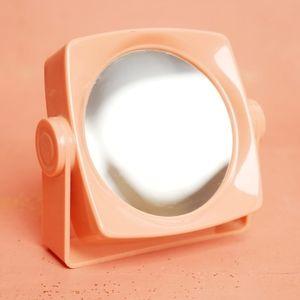 Vintage Peach Mirror